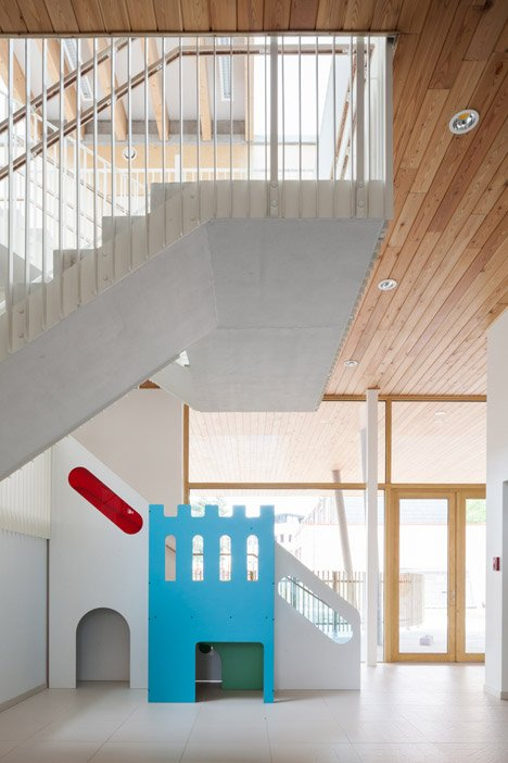 Daycare centre, Brussels by ZAmpone Architectuur