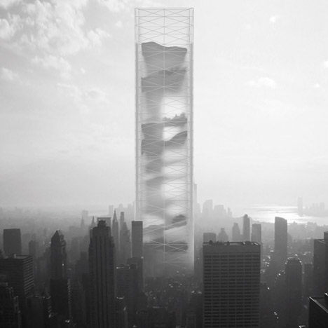 Conceptual high-rise containing 11 landscapes wins eVolo Skyscraper Competition