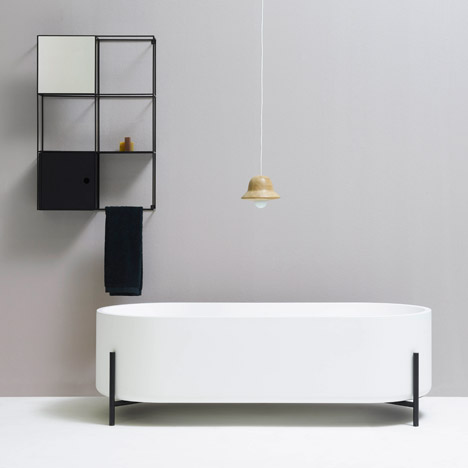 Norm Architects creates minimal bathroom furniture for Ex.t