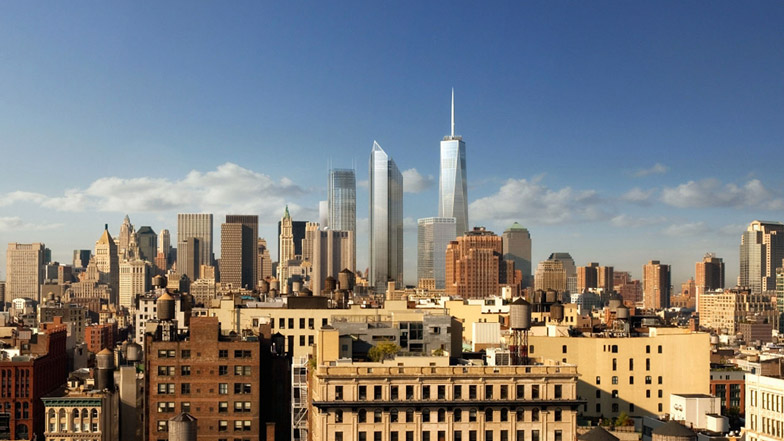 Foster + Partners World Trade Center render