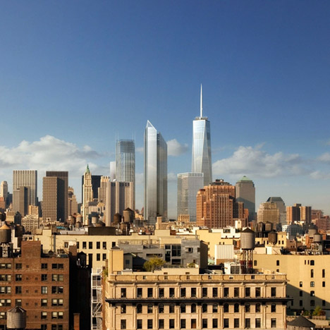 Bjarke Ingels could replace Foster + Partners on World Trade Center tower