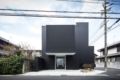 Kouichi Kimura's Framing House combines a home and a gallery