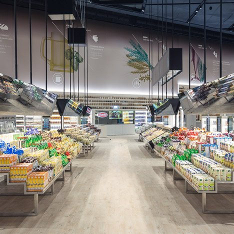 Carlo Ratti creates a digital supermarket at the Milan Expo 2015