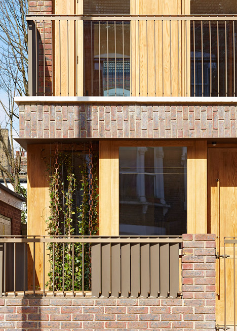 Haringey Brick House by Satish Jassal Architects