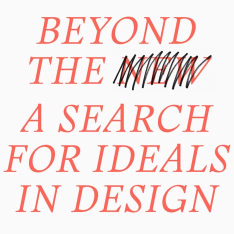 Jongerius and Schouwenberg launch Beyond the New manifesto