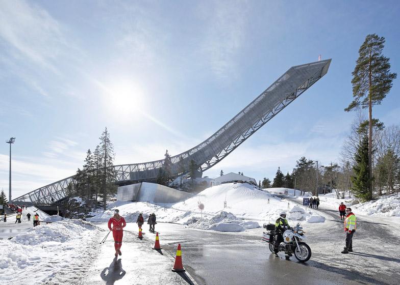 Holmenkollen Ski Jump, Oslo by JDS Architects