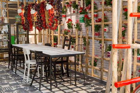 Ikea Temporary during Milan design week 2015