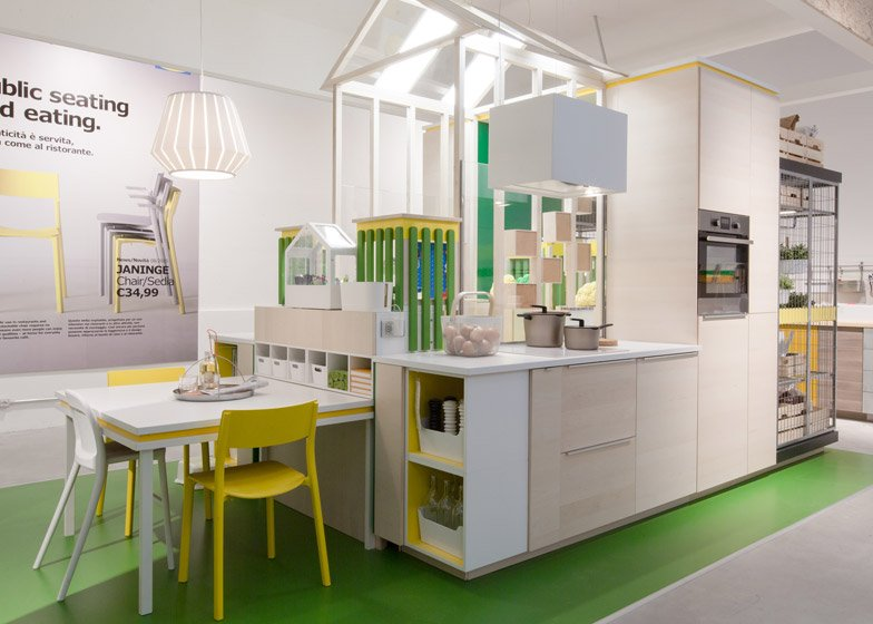 Ikea Temporary during Milan design week 2015