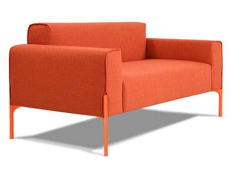 Inlay sofa by Benjamin Hubert for Indera