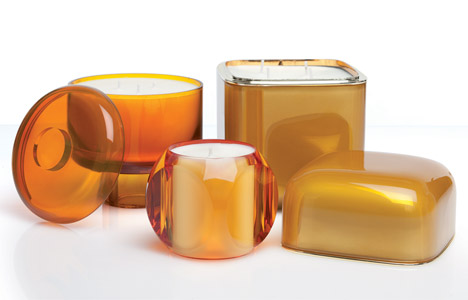 Ambra candles by Kartell