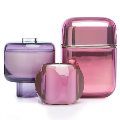 Rosa candles by Kartell