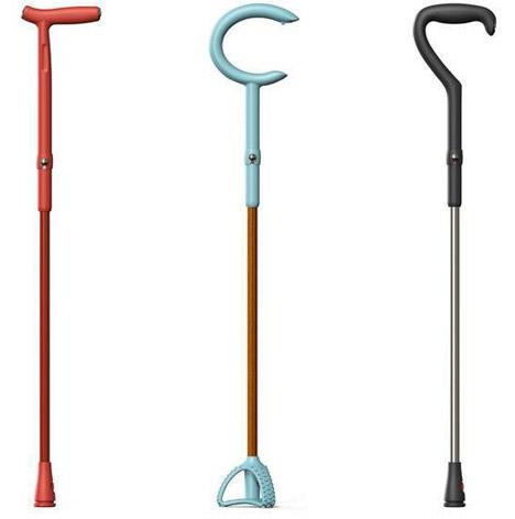 Kimberly Clark walking sticks by Michael-Graves_dezeen_468_0