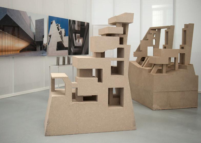 UTEC Lima models by Grafton Architects