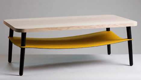 Hang Table by Notion and Mourne Textiles
