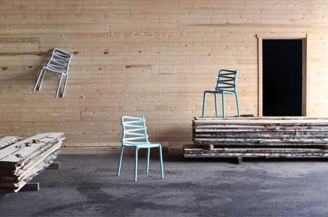 Loop Chair by Markus Johansson