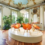 Designers create transportable leather furnishings for Louis Vuitton