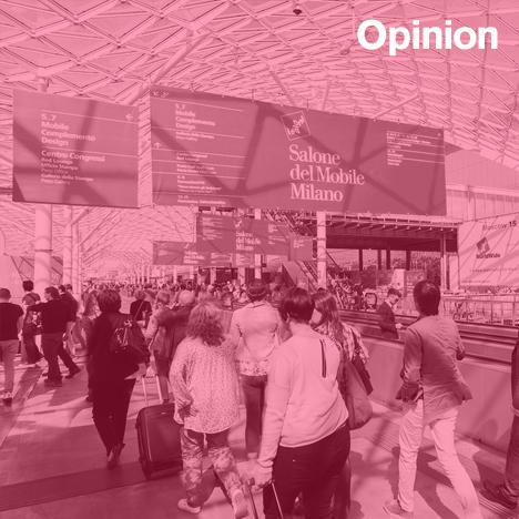 Lucas Verweij opinion column on design fairs and design weeks
