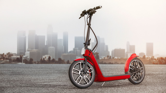 Scooter reduce CO2