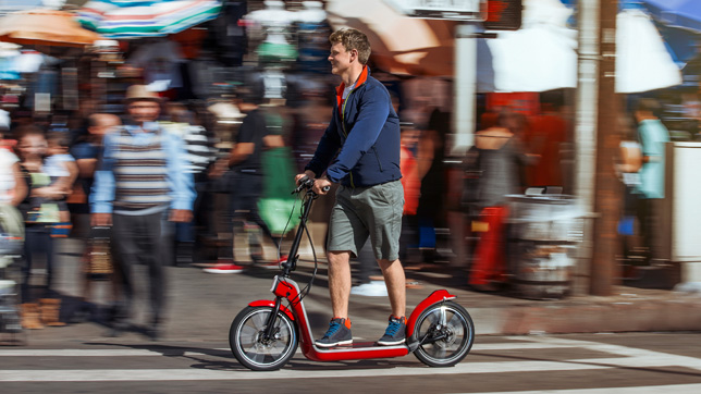MINI Citysurfer electric scooter concept
