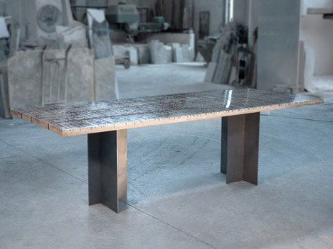Marble Ways Collection by Alcarol at Spazio Rossana Orlandi