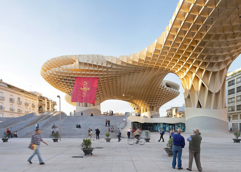 Metropol Parasol, Seville by Jürgen Mayer-Hermann