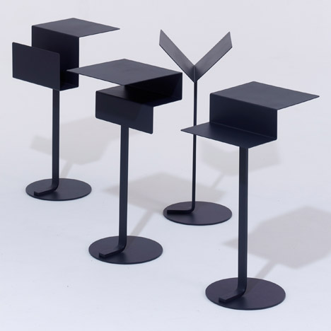 Mono tables by Konstantin Grcic