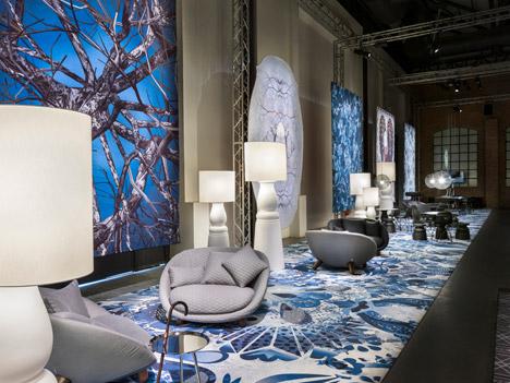 Moooi showroom at Milan 2015