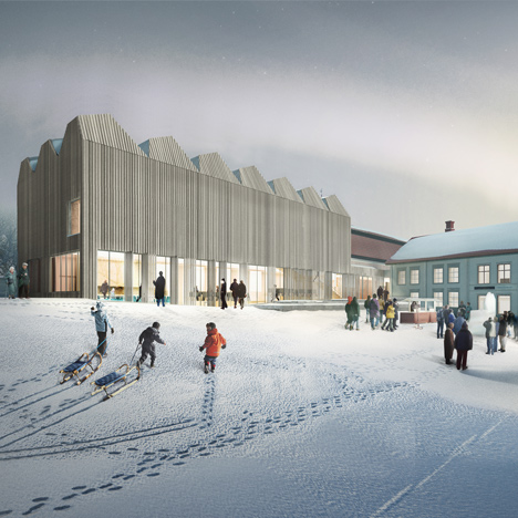 Henning Larsen Architects to design outpost for Swedish National Museum