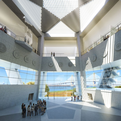 National Medal of Honor Museum by Safdie Architects