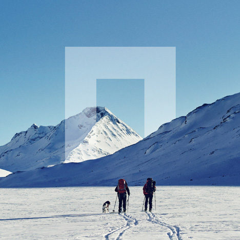 Norway National Parks brand identity by Snøhetta