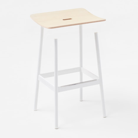 Nendo's Float stool for Moroso looks impossible
