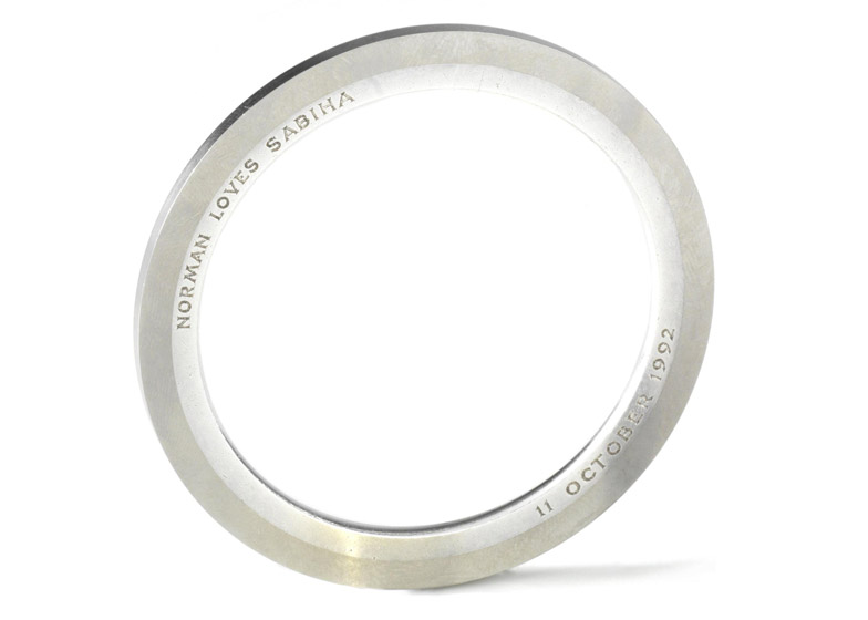 Wedding Ring Auctions 31 Fancy Norman Foster us ex