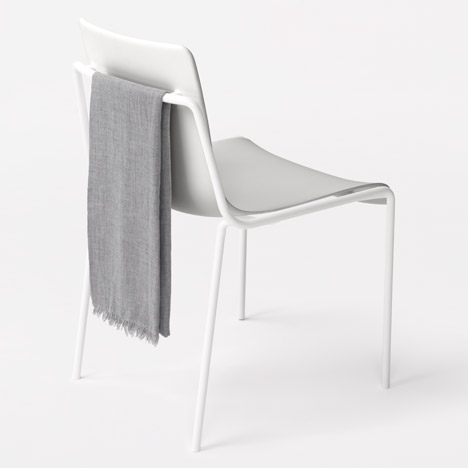 Nendo follows up Milan exhibition with stacking chair for Kokuyo