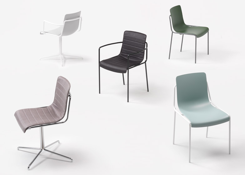 Offset-Frame Chair for Kokuyo