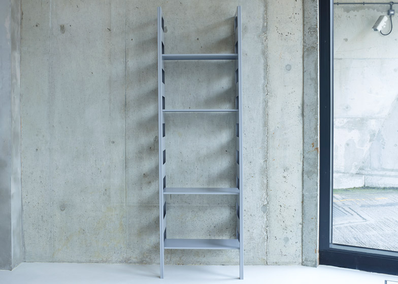 Parallel Shelving by Terence Woodgate