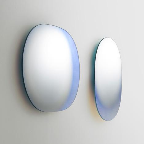 Patricia Urquiola Shimmer mirrors Glas Italia