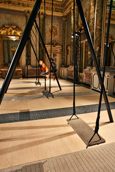 Philippe Malouin Caesarstone swings