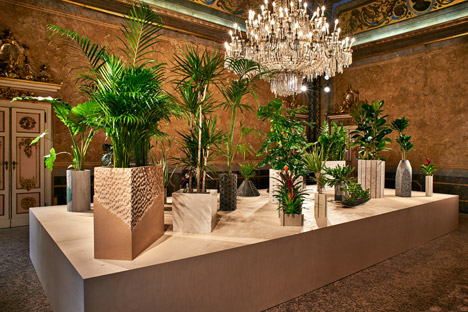 Philippe Malouin Caesarstone planters