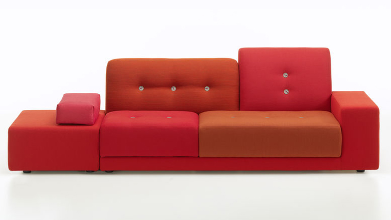 Polder sofa by Hella Jongerius for Vitra