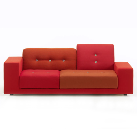Polder sofa by Hella Jongerius for Vitra