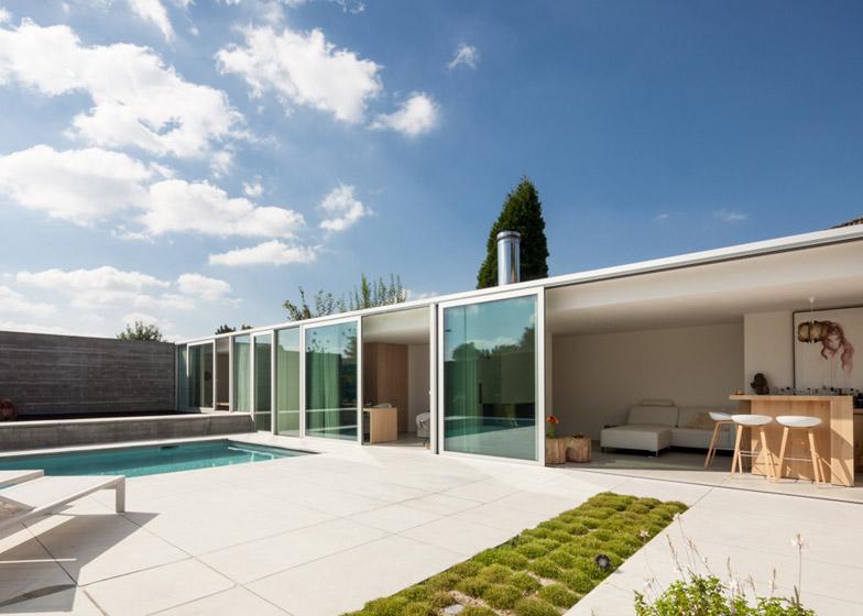 Pool House by Steven Vandenborre