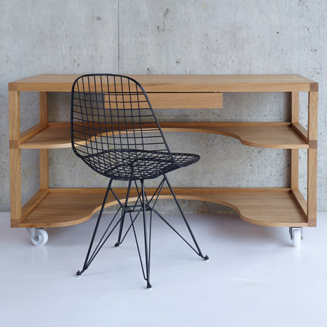 Prado Desk by Konstantin Grcic