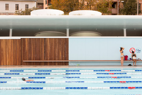 Prince Alfred Park Pool by Neeson Murcutt Architects. Photograph by Brett Boardman