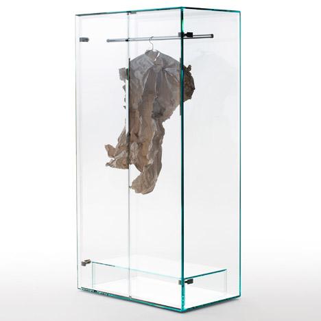 Prism glass closet by Tokujin Yoshioka