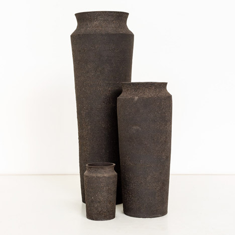 Radioactive Rare Earthenware vases by Unknown Fields