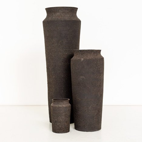 Radioactive vases are made from toxic smartphone waste