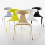 Konstantin Grcic's Remo chair for Plank features a T-shaped back