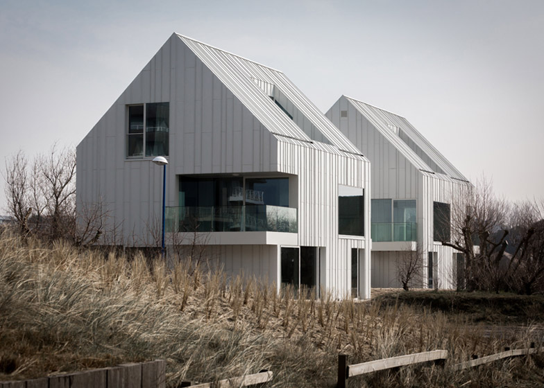 Buro Ii Archi I Designs Twin Pitched Roof Duplexes