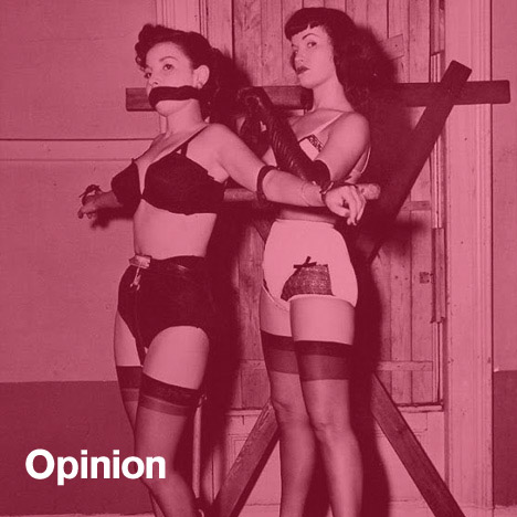 Sam Jacobs opinion column on BDSM, fetish and design