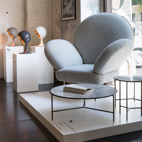 Nika Zupanc adds seating to her collection for Sé